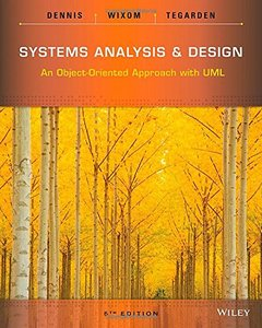 Systems Analysis and Design: An Object Oriented Approach with UML (Paperback)-cover