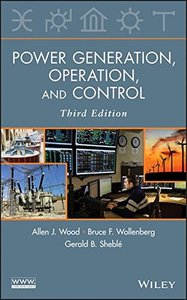 Power Generation, Operation and Control, 3/e (Hardcover)-cover