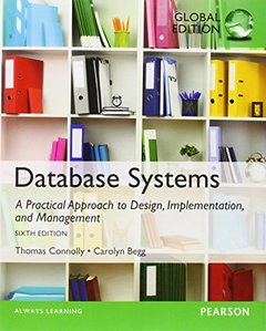 Database Systems: A Practical Approach to Design, Implementation and Management, 6/e (IE-Paperback)【內含Access Code,經刮除不受退】-cover