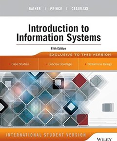Introduction to Information Systems, 5/e (IE-Paperback)-cover