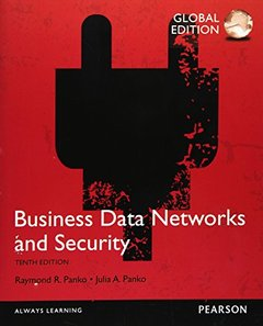 Business Data Networks & Security, 10/e (Paperback)-cover