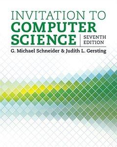Invitation to Computer Science, 7/e (Paperback)