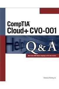 CompTIA Cloud+ CV0-001 Q&A Paperback-cover