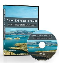 Canon EOS Rebel T4i / 650D: From Snapshots to Great Shots (DVD) [DVD-ROM]-cover