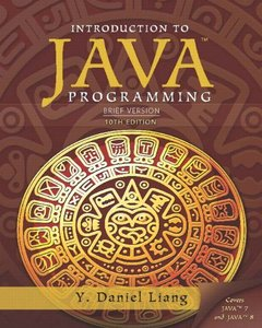 Intro to Java Programming, Brief Version (10th Edition) [Paperback]-cover
