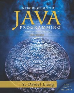 Intro to Java Programming, Comprehensive Version (10th Edition) [Paperback]