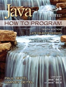 Java How To Program - Late Objects Version, 10/e(美國原版)-cover