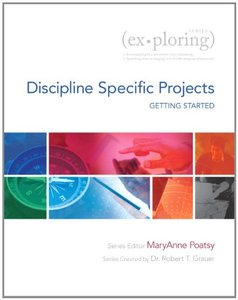 Exploring Getting Started with Discipline Specific Projects [Paperback]-cover