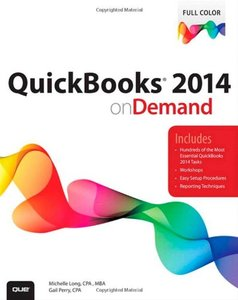 QuickBooks 2014 on Demand [Paperback]-cover