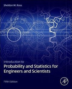 Introduction to Probability & Statistics for Engineers & Scientists, 5/e (Hardcover)-cover