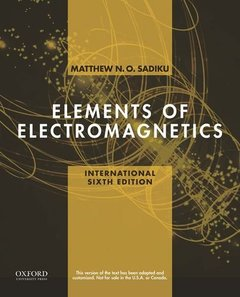 Elements of Electromagnetics, 6/e (Paperback)-cover