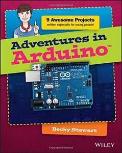Adventures in Arduino (Paperback)-cover