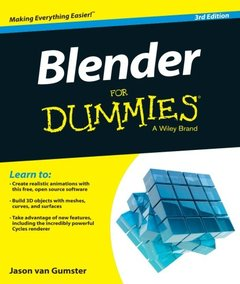 Blender For Dummies, 3/e (Paperback)-cover