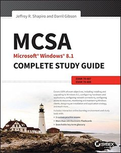 MCSA Microsoft Windows 8.1 Complete Study Guide: Exams 70-687, 70-688, and 70-689 (Paperback)-cover