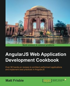 AngularJS Web Application Development Cookbook (Paperback)-cover