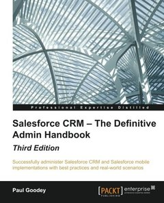 Salesforce CRM - The Definitive Admin Handbook, 3/e(Paperback)-cover