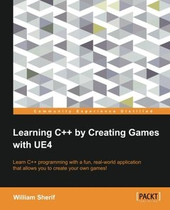 Learning C++ by Creating Games with UE4 (Paperback)-cover