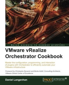 VMware vRealize Orchestrator Cookbook-cover