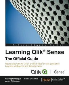Learning Qlik Sense: The Official Guide-cover
