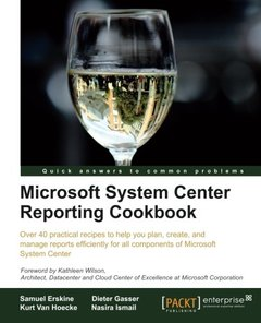 Microsoft System Center Reporting Cookbook (Paperback)-cover