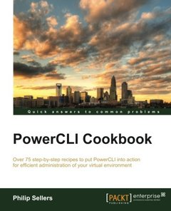 PowerCLI Cookbook-cover