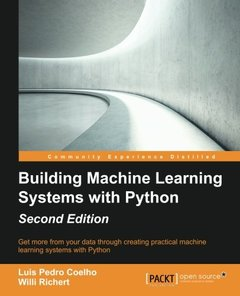 Building Machine Learning Systems with Python, 2/e (Paperback)-cover