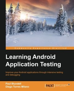 Learning Android Application Testing-cover