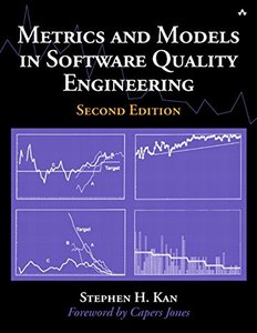 Metrics and Models in Software Quality Engineering,  2/e(Paperback)-cover