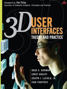 3D User Interfaces: Theory and Practice (paperback) Paperback-cover