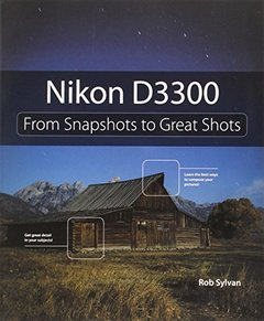 Nikon D3300: From Snapshots to Great Shots Paperback-cover