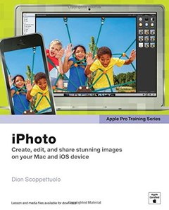 Apple Pro Training Series: iPhoto [Paperback]-cover
