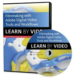 Filmmaking Workflows with Adobe Pro Video Tools: Learn by Video Multimedia DVD-cover