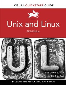 Unix and Linux: Visual QuickStart Guide, 5/e (Paperback)-cover