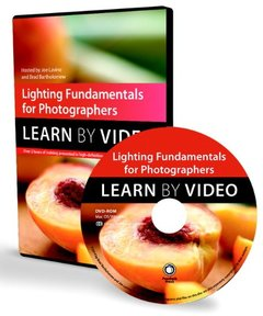 Lighting Fundamentals for Photographers: Learn by Video Multimedia DVD-cover
