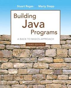 Building Java Programs, 3/e(Paperback)-cover