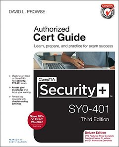 CompTIA Security+ SY0-401 Authorized Cert Guide, Deluxe Edition, 3/e(Hardcover)-cover