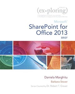 Exploring Microsoft SharePoint for Office 2013, Brief Paperback-cover