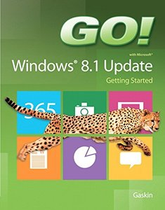 GO! with Windows 8.1 Update 1 Getting Started Paperback-cover