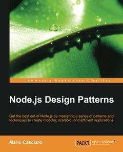 Node.js Design Patterns (Paperback)-cover