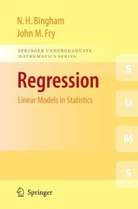 Regression: Linear Models in Statistics (Paperback)-cover