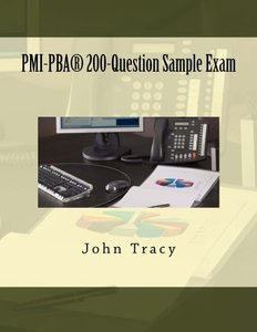 PMI-PBA 200-Question Sample Exam (Paperback)-cover