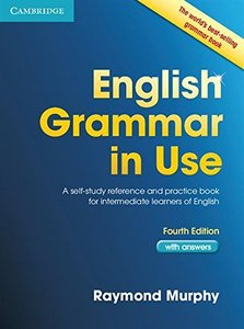 English Grammar in Use Students Book Intermediate with Answers, 4/e : A Self-Study Reference and Practice Book for Intermediate Students of English (Paperback)-cover