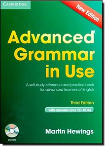 Advanced Grammar in Use Book with Answers and CD-ROM, 3/e : A Self-Study Reference and Practice Book for Advanced Learners of English (Multimedia CD)-cover