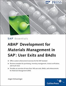 ABAP Development for Materials Management in SAP: User Exits and BAdIs (Hardcover)-cover