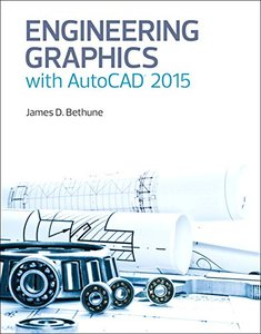 Engineering Graphics with AutoCAD 2015 Hardcover-cover
