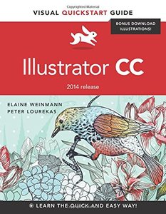 Illustrator CC: Visual QuickStart Guide (2014 release) Paperback-cover