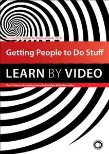 Getting People to Do Stuff: Learn by Video Multimedia DVD-cover