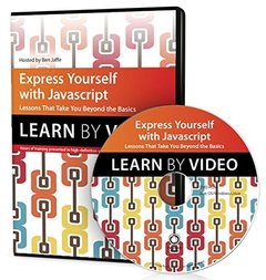 Express Yourself with JavaScript: Learn by Video: Lessons that take you beyond the basics Multimedia DVD-cover
