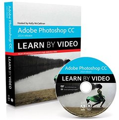 Adobe Photoshop CC Learn by Video (2014 release) Paperback-cover