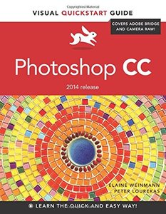 Photoshop CC: Visual QuickStart Guide (2014 release) Paperback-cover